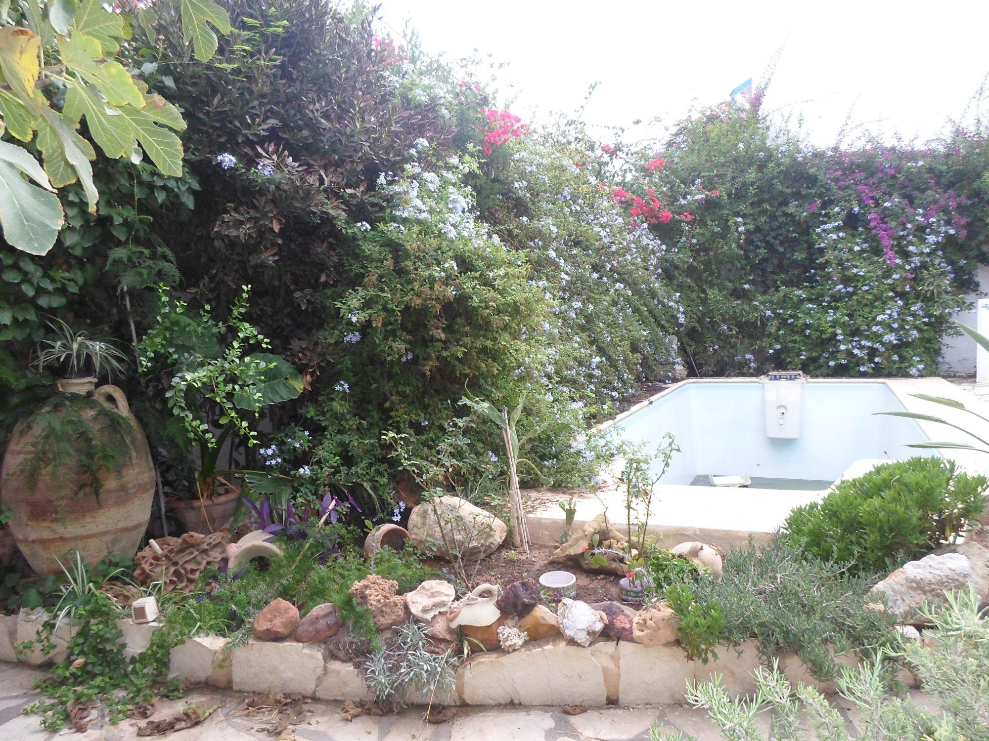 Al trés belle villa avec piscine à hammamet