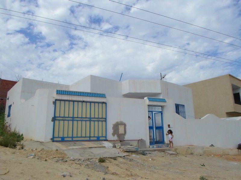 Av maison au rez de chaussée située dans les hauteurs de hammamet