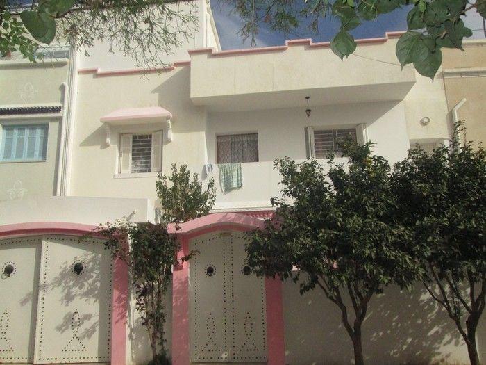 Av 2 maisons plus appartement vue de mer à hammamet nord