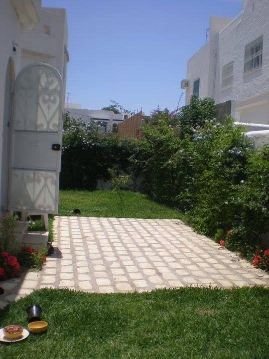 Villa meublée avec jardin zone hotelière
