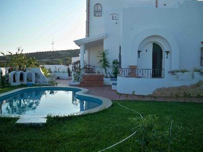 Villa de charme vendre a hammamet vente maison for Piscine demontable tunisie