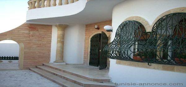 Belle villa hergla vue mer vente maison hergla immobilier en - Maison style americain ...