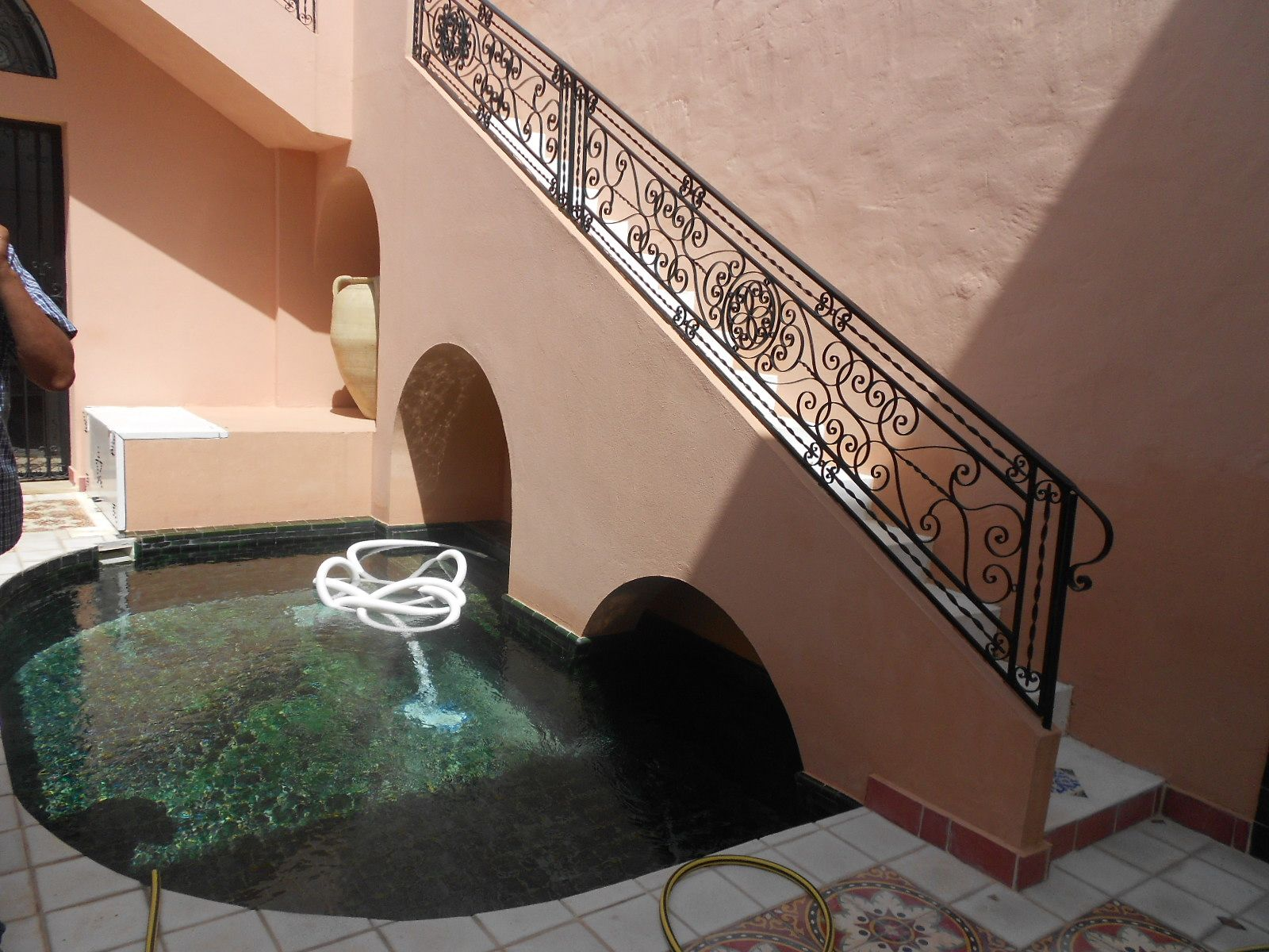 Av magnifique villa de style arabesque moderne   vente villa à ...
