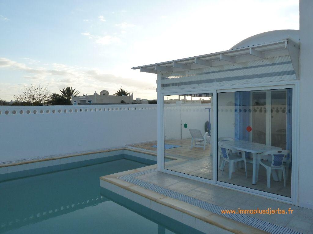 Achat villa djerba avec piscine vente maison djerba for Achat piscine