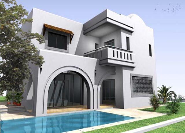best plan maison tunisienne u argenteuil with plan maison tunisie - Plan De Maison En Tunisie