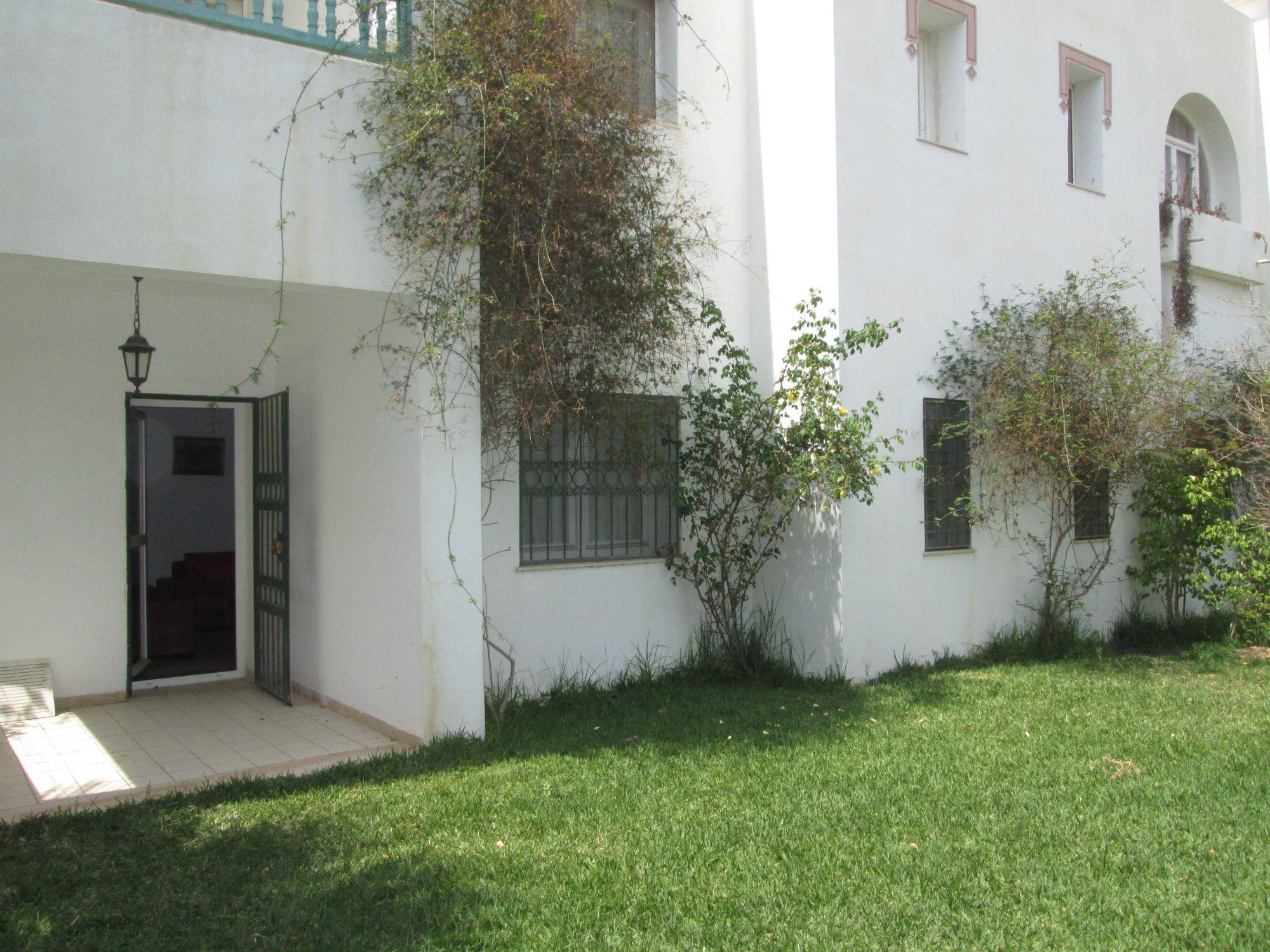 Appartement s 2 avec jardin hammamet sud vente for Appartement avec jardin