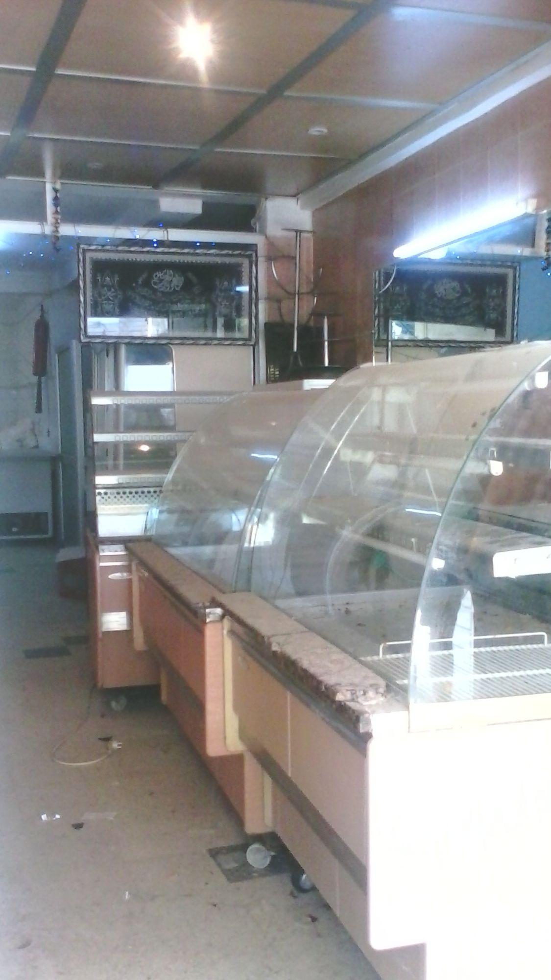 Fond de pâtisserie et laboratoire avec matériels