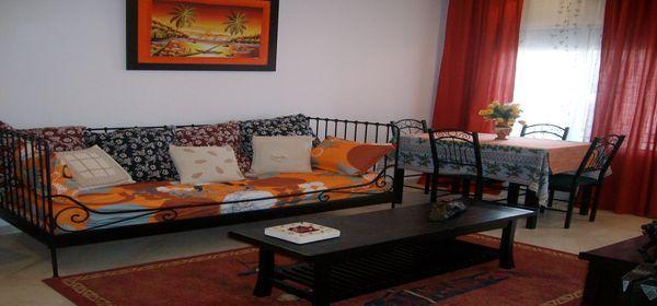 appartement meubl en plein zone touristique location appartement sousse ville. Black Bedroom Furniture Sets. Home Design Ideas