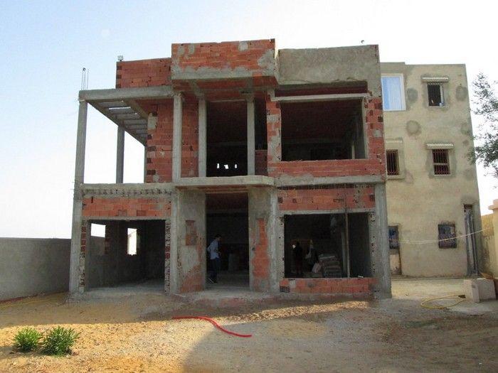 Villa inachevé plus studio la campagne de hammamet avec vue mer