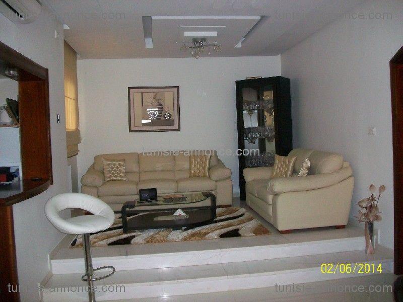 style am ricain agba vente duplex monastir ville immobilier en. Black Bedroom Furniture Sets. Home Design Ideas