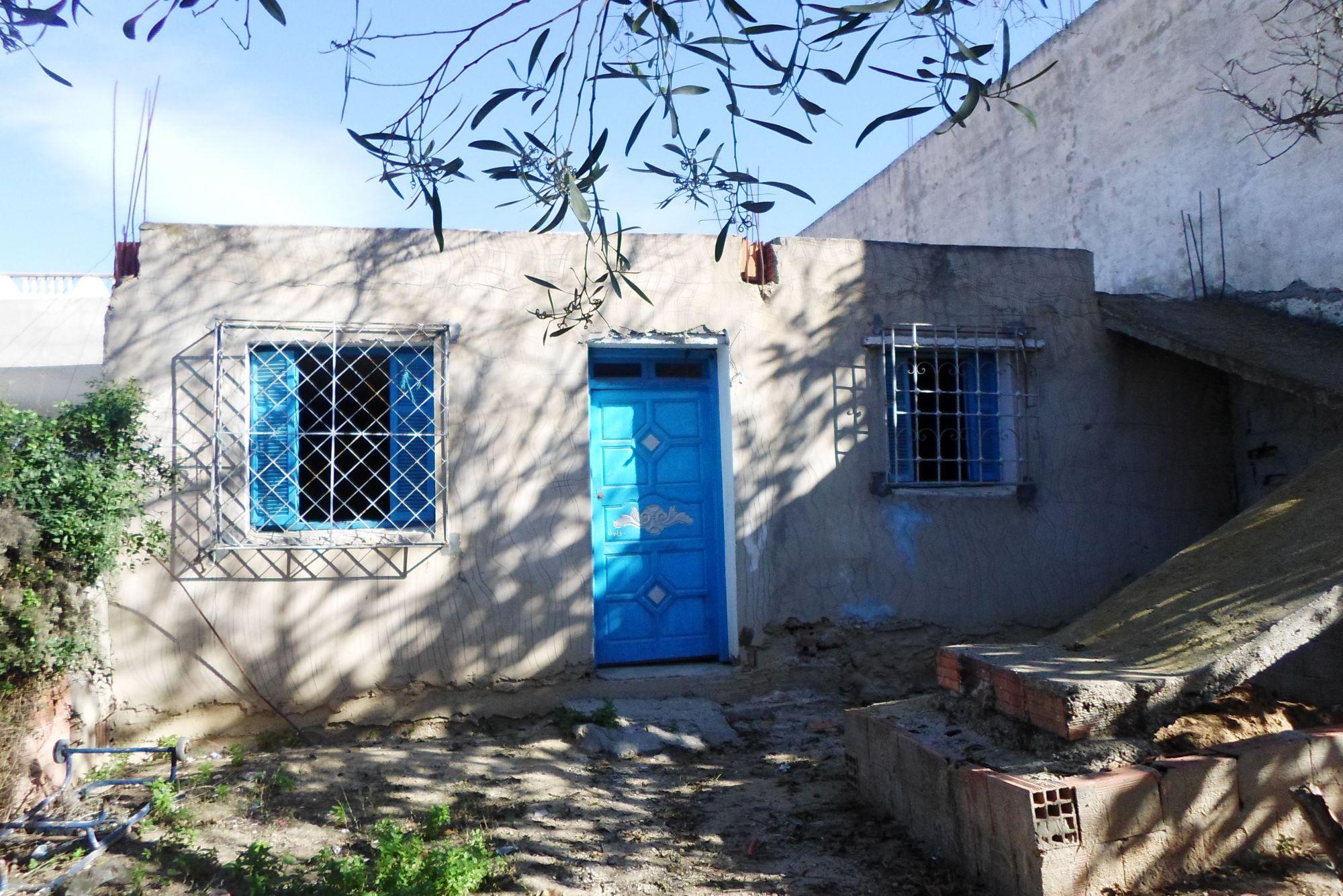 A vendre maison située a hammamet