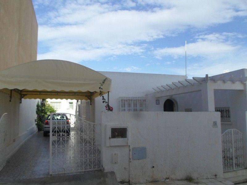 A vendre villa plein pieds proche yassmine hammamet