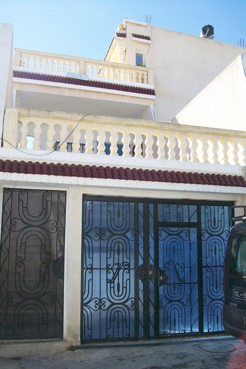 A vendre maison sur deux étages à hammamet