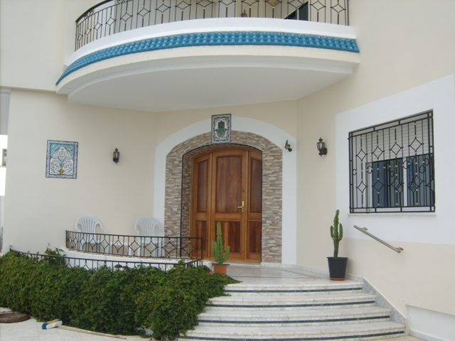 Une villa de style am ricain vente maison bekalta immobilier for Plan de maison style americain