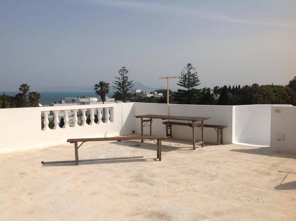 Villa Avec Grande Terrasse :  u00e9tage de villa avec une grande terrasse location duplex