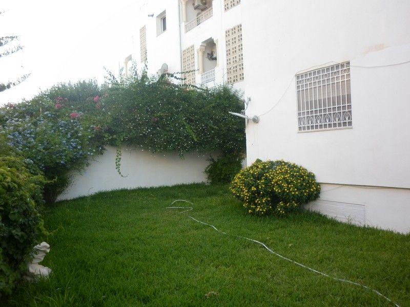 Appartement avec grand jardin proche de zone touristique hammamet