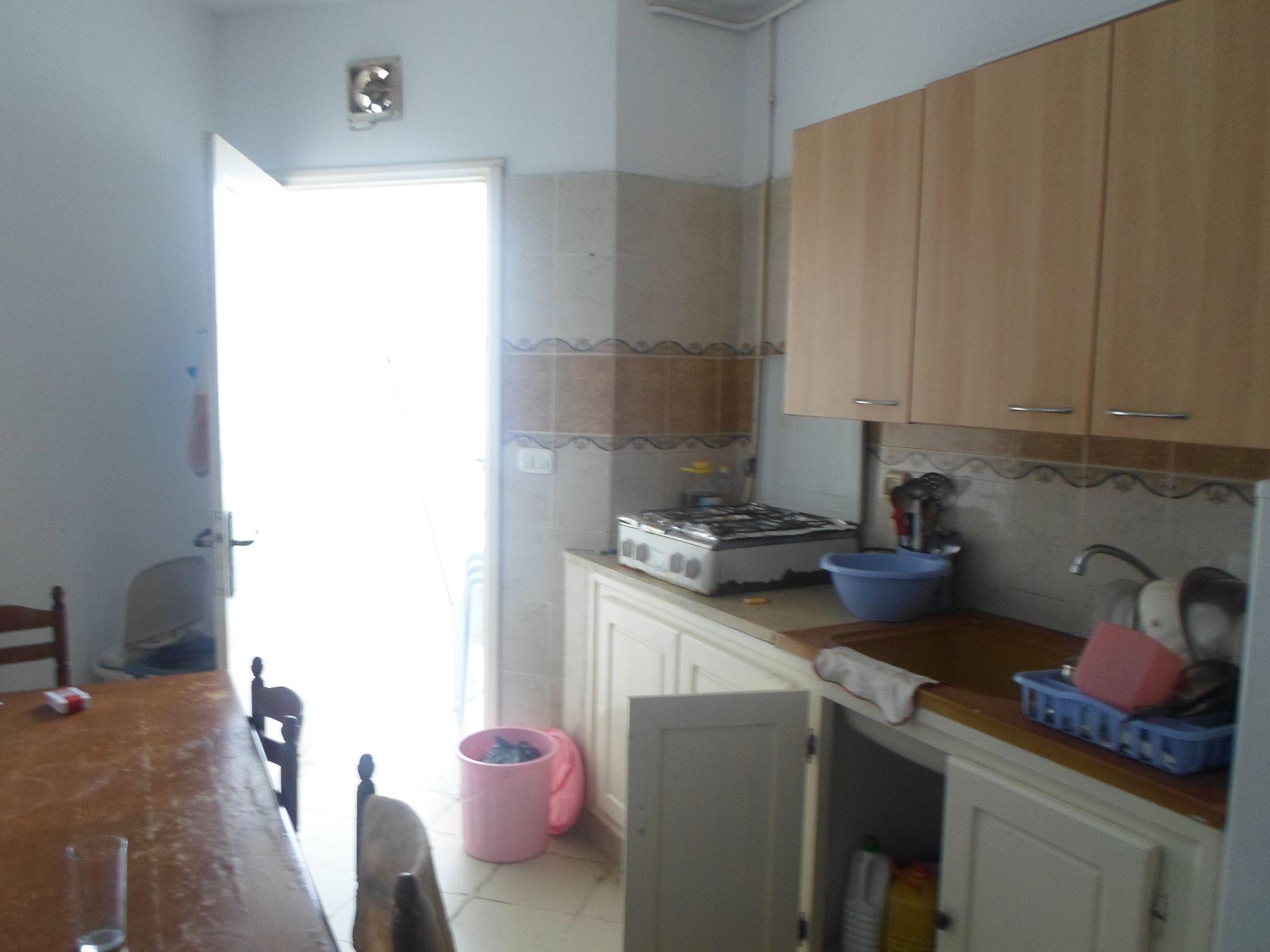 Av un appartement avec vue de mer à hammamet nord