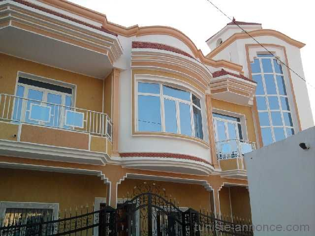 A louer tage de villa a sidi ameur sahline tunisie for Decoration exterieur villa en tunisie