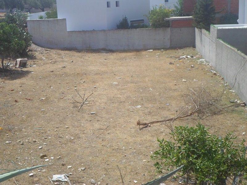 Un terrain au deuxième position à hammamet wa