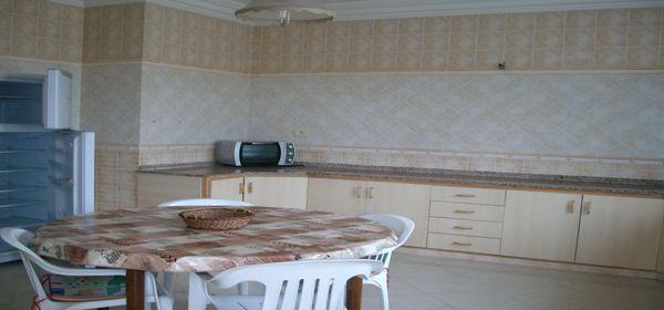 Grand appartement meublé à kantaoui