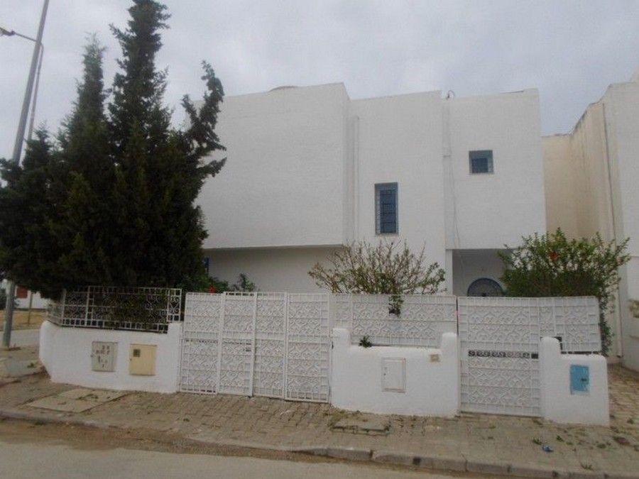 Av duplex dans une résidence en plein centre ville à hammamet