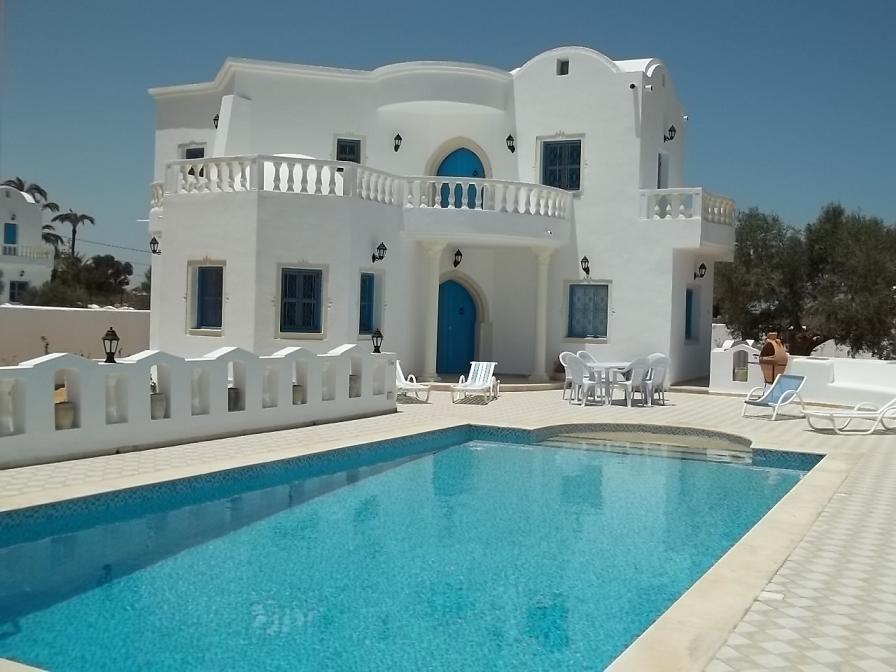Location Villa De Standing Avec Piscine Prive  Djerba  Location