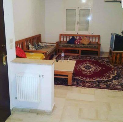 Bardo meublé et climatisé de 70 à 120 dt par jour
