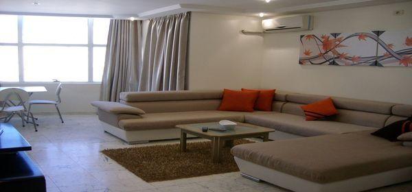 Un agr able appartement meubl location appartement for Inter meuble hammam sousse