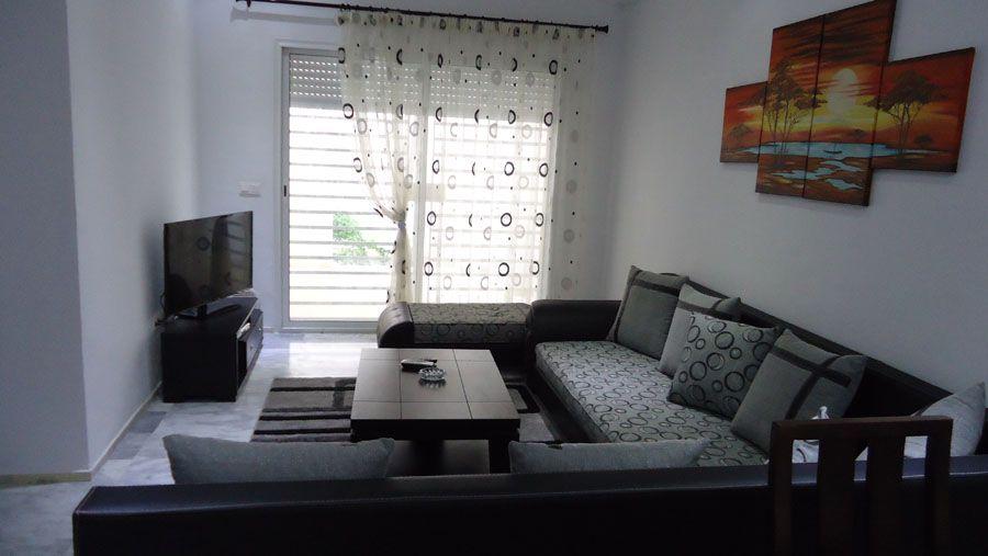 joli appartement meubl route touristique location appartement sousse khezama. Black Bedroom Furniture Sets. Home Design Ideas