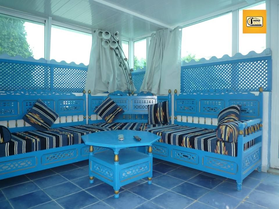 Agr able studio arabesque k libia location vacances for Meuble arabesque tunisie