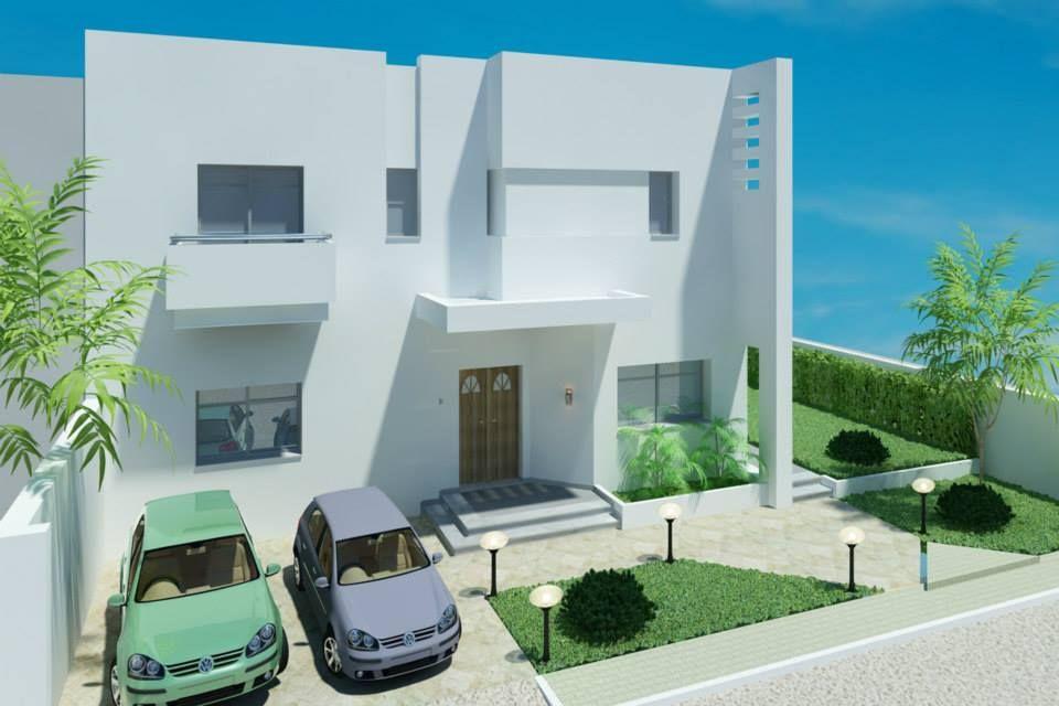 Villa marhaba hammamet sud vente maison hammamet for Architecture tunisienne maison