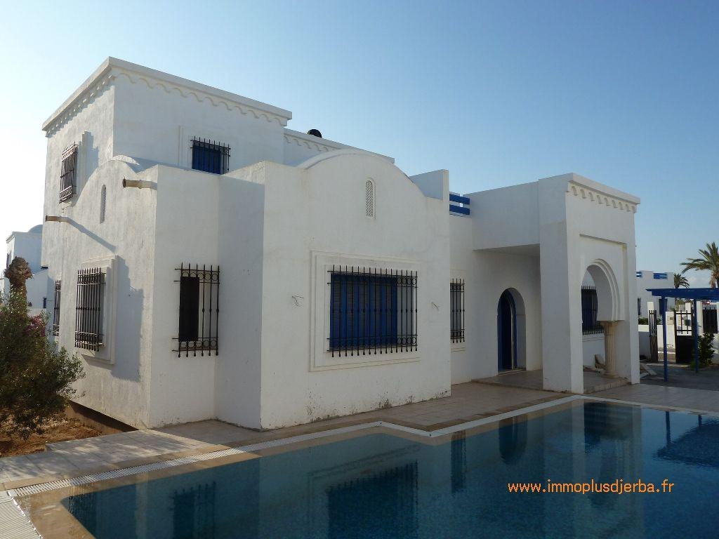 Vente villa a djerba avec piscine vue mer proche plage - Google vue des maisons ...