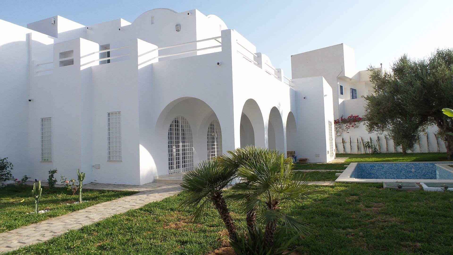 Magnifique villa avec bel piscine à hammamet