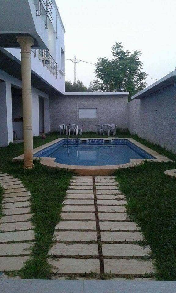 Splendide villa avec piscine al hammamet location - Location villa hammamet avec piscine ...