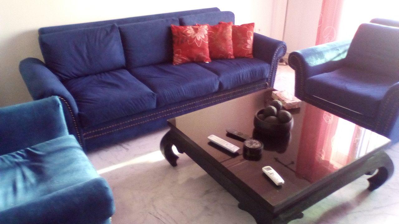 Appartement meuble 3 piece au la
