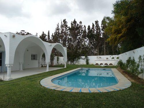 Villa lydia située à hammamet nord mimosa