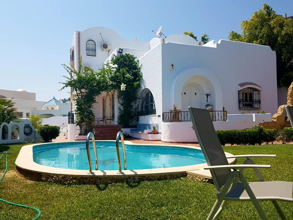 Villa style arabesque s+4 à hammamet nord