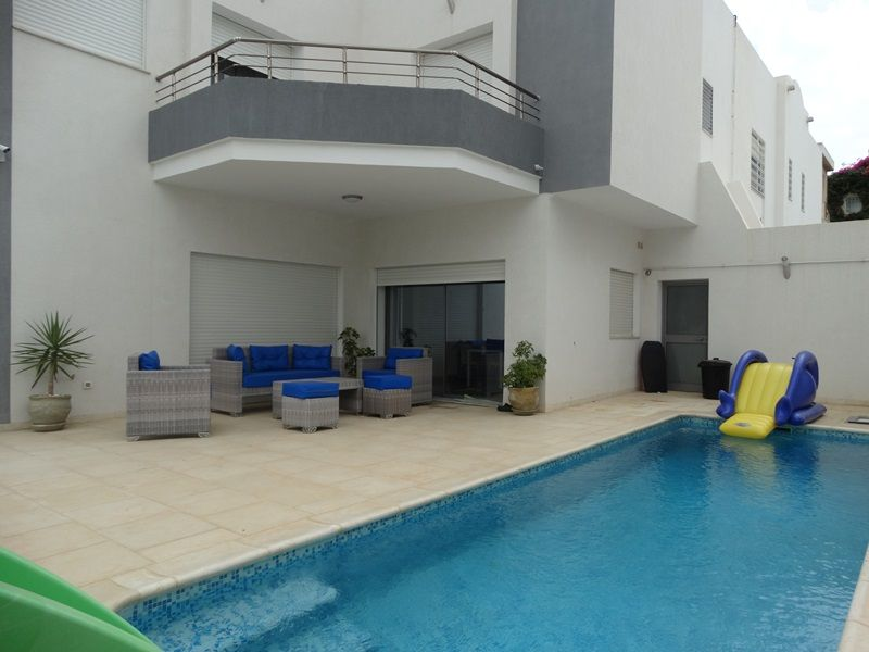 Villa la lunaréfe située à yasmine hammamet