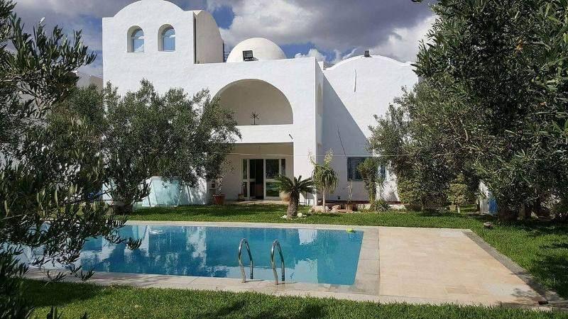 Villa rubisréf:  située à hammamet nord