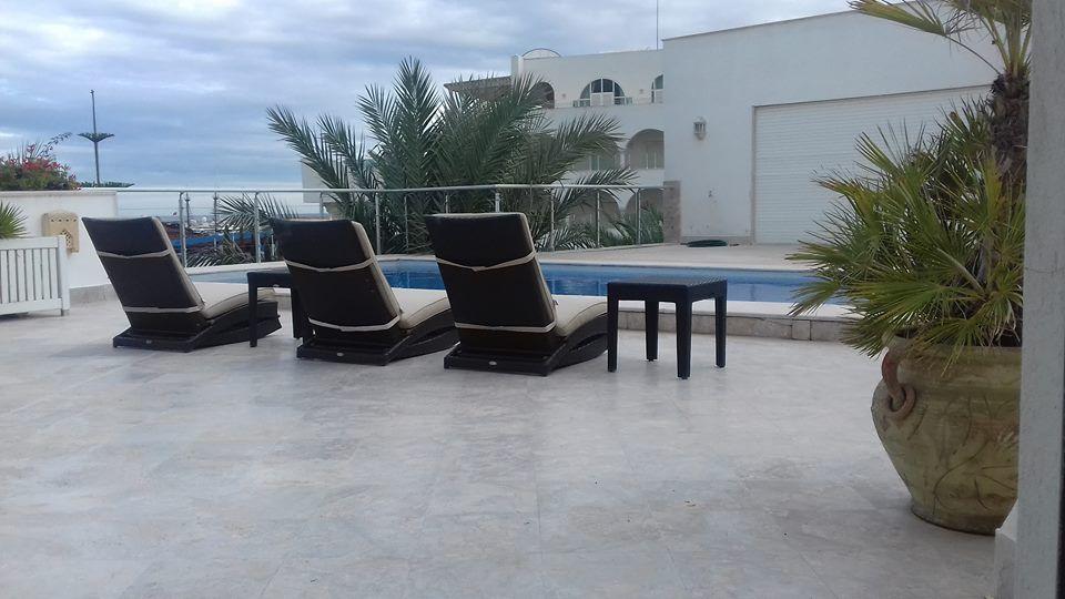 Luxueuse villa avec piscine à la marina