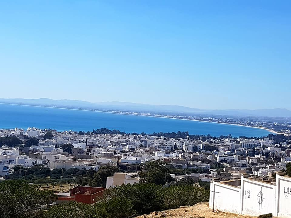 Terrain vue sur mer panoramique
