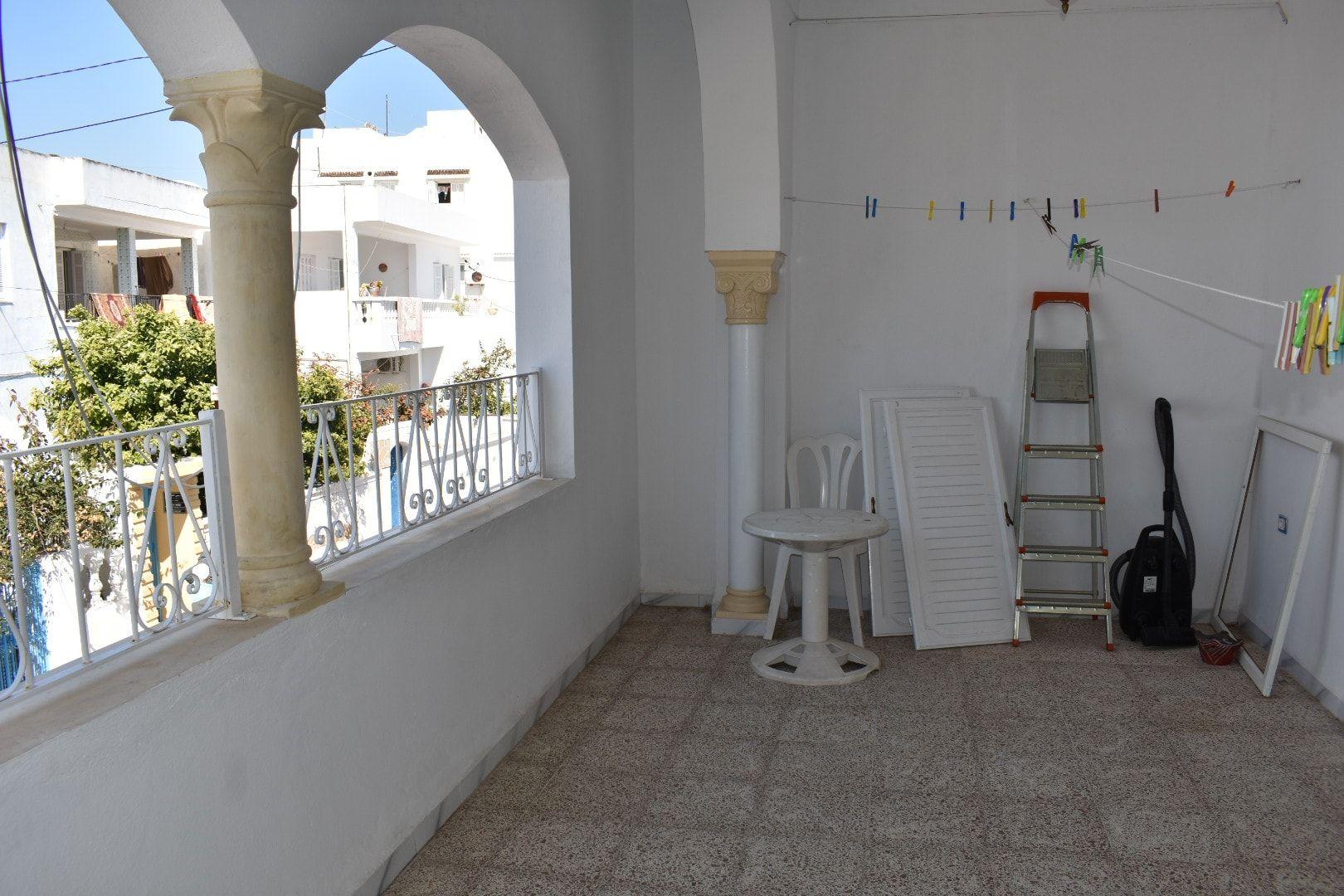 Joli étage de villa à hammamet