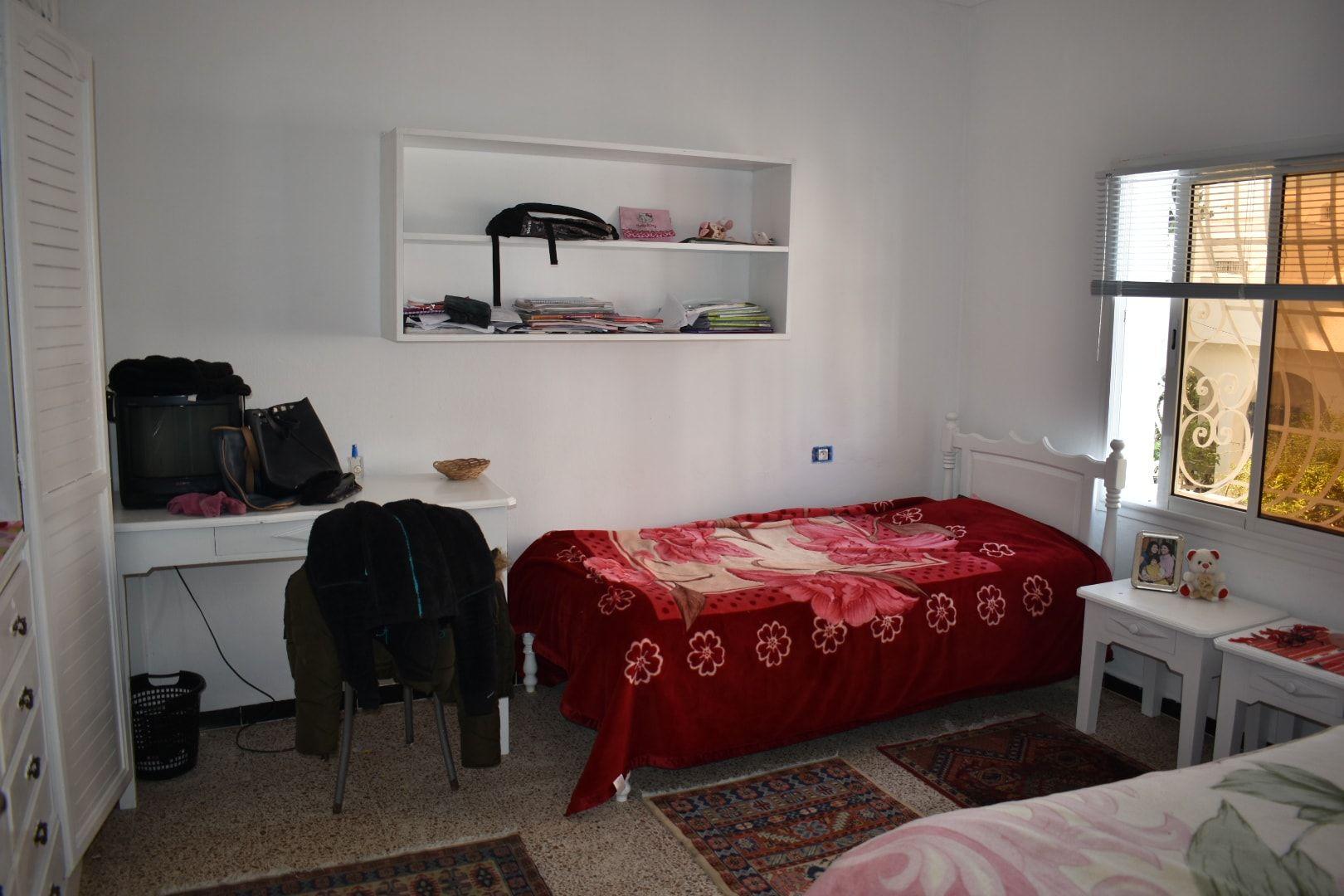 Jolie étage de villa à hammamet centre ville