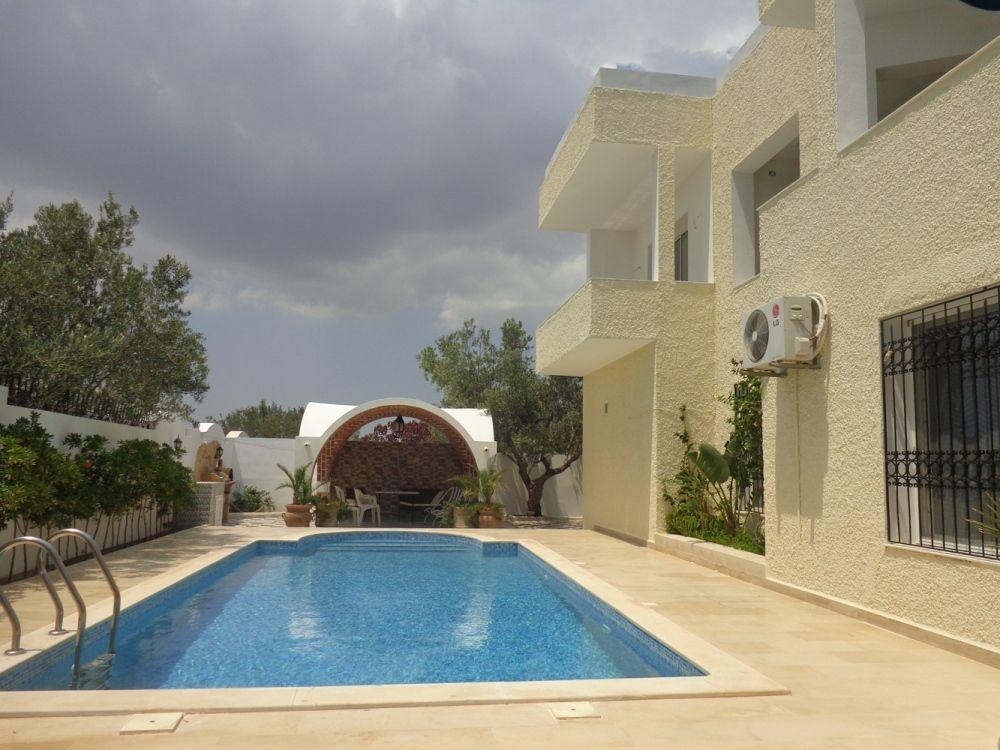 Villa avec piscine à hammamet y
